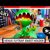 Art Ninja | Venus Flytrap Sweet Dispenser | Art for Children