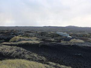 "Sandvik - the ""bridge between two continents"" - click to enlarge - photo © Bernard"