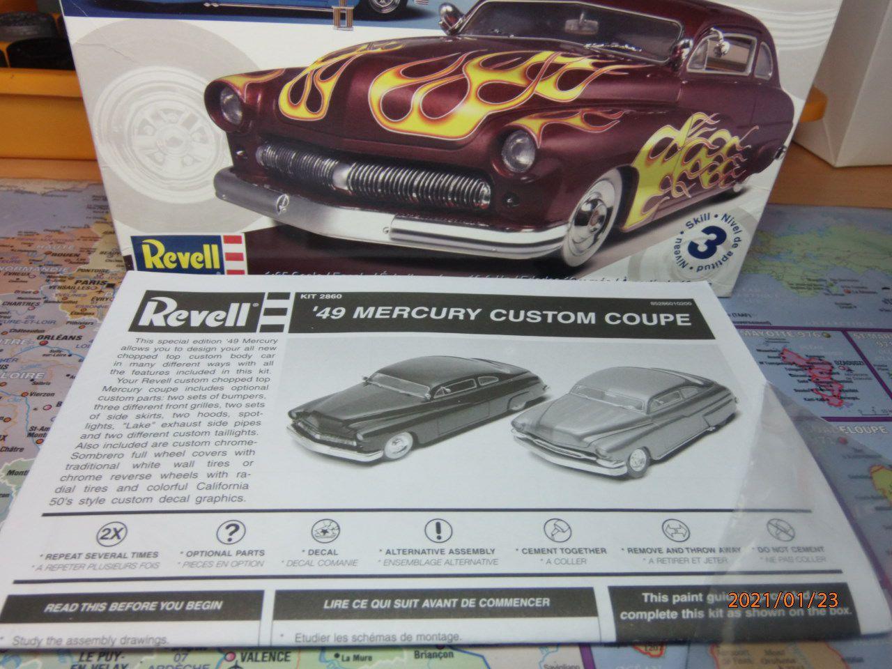 49 Mercury coupé  1/3