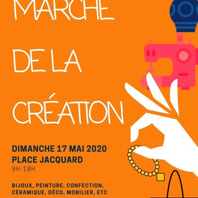 MARCHE de la CREATION 2020 : lancement des inscriptions