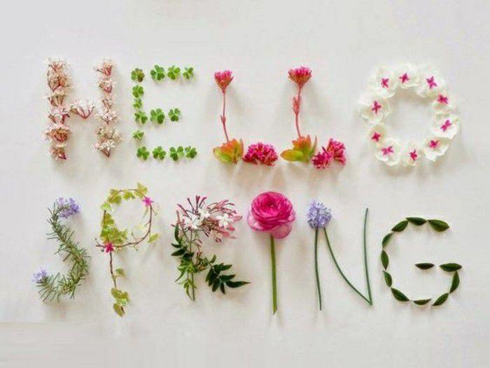Hello Spring , bonjour Printemps! (Image du web)