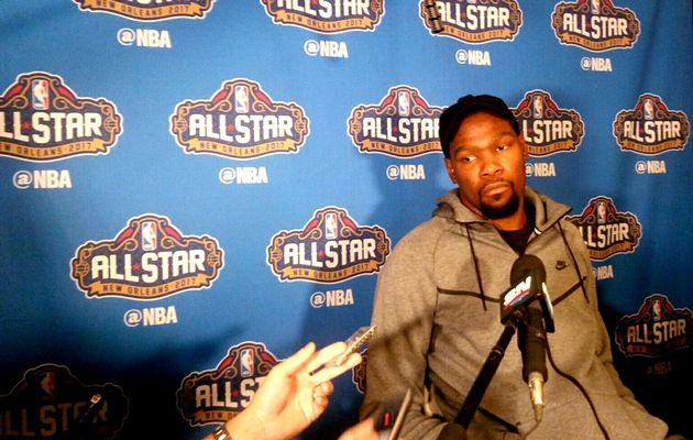 """Kevin Durant : """" Le meilleur dunkeur en match est probablement Westbrook """""""