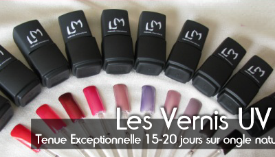Gamme UV LM Cosmetic.
