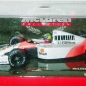 F1 MC LAREN MP 4/6 MOTEUR HONDA V12 1991 AYRTON SENNA 1/64 MINICHAMPS - car-collector.net