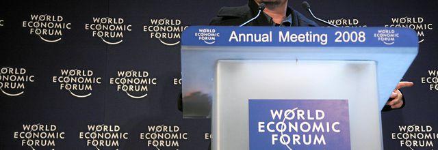 Bono - Davos World Economic Forum -Davos -Suisse -24/01/2008