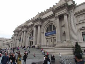 NEW YORK : Le MET(Metropolitan museum of art)