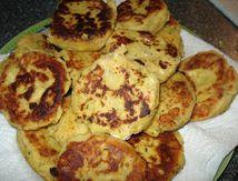 galettes de pomme de terre à l'algérienne
