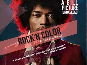 2 nouveaux ateliers d'étalonnage sur Bruxelles. Au programme: Etalonner des images couches Alpha (FX) et l'influence du Rock!'n roll!