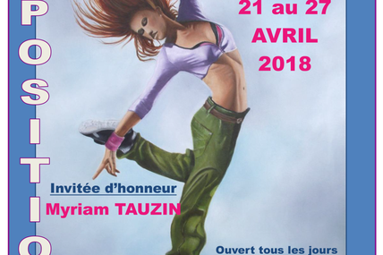 La Palette d'Or expose du 21 au 27 avril 2018