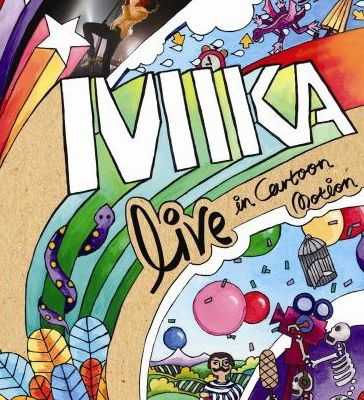 Mika concert live (DVD) - Live in Cartoon Motion