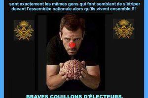 En France,  c'est vraiment la politique des girouettes! Pathétique !