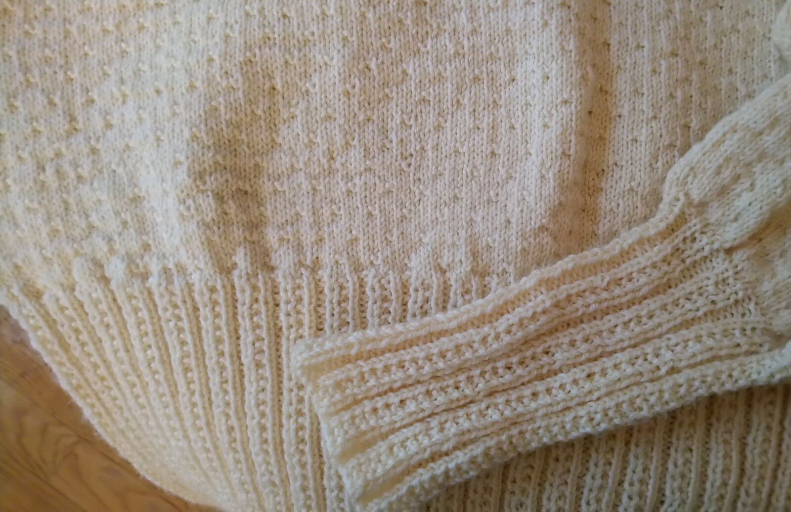 Patron tricot pull blouse