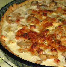 Tarte pomme de terre aux 3 fromages