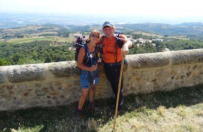 Ma reco. de randonnée de Chateaubourg - st Romain de Lerps  Ardèche