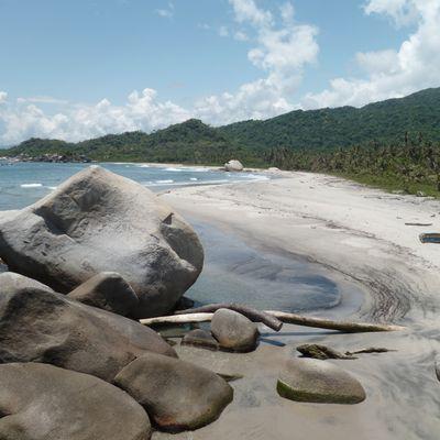 Le parc de Tayrona sur la côte caraïbe