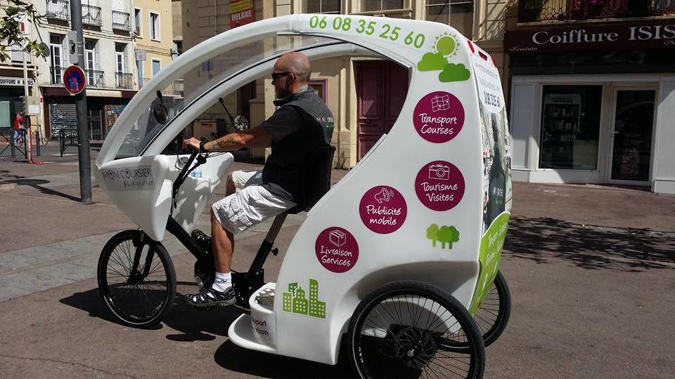 Perpignan/slow city: Jérémie Edme, le coursier de quartier, vélo taxi! interview par Nicolas Caudeville