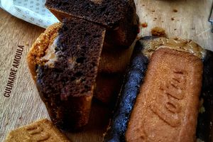 Brownie au chocolat et spéculoos