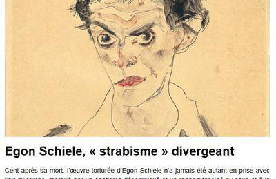 Egon Schiele,fils spirituel de Gustav Klimt....
