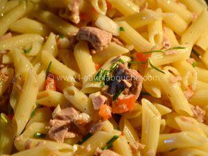 Salade de Penne au Thon