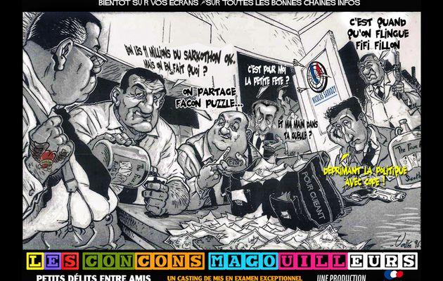 "Les ""amis de Nicolas Sarkozy"" ne se ramassent plus à la pelle"