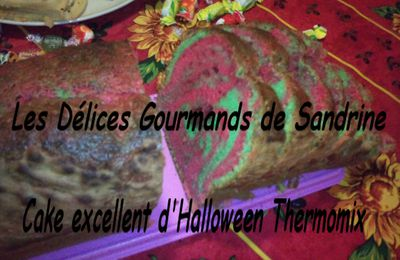 Cake Excellent Halloween Thermo