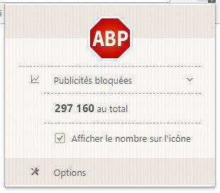 AdBlock+ et Avast Online Security