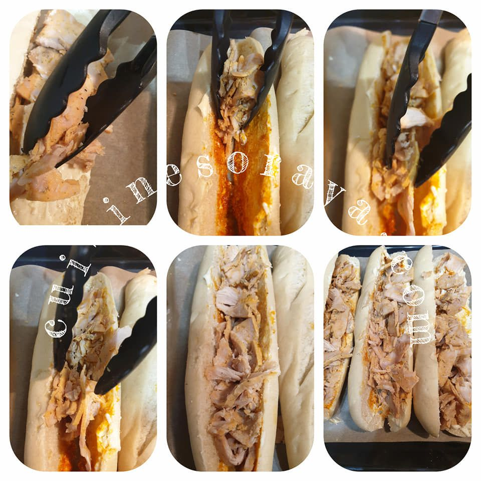 Sandwich Kebab au four express