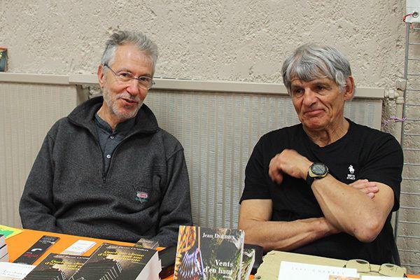 Jean-Pierre Cendron, Jean Dherbey et Dominique Lin à Feuilles d'automne de Colmars les Alpes