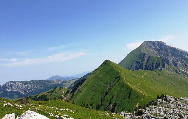 Randonnée ADAPAR à la Pointe Verte et au Roc des Tours par Samance, le Chinaillon le 23.07.21