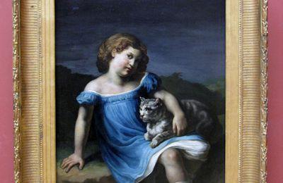 Théodore Géricault, Louise Vernet, enfant