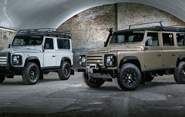 Land Rover arrêtera la productin de son Defender en 2015