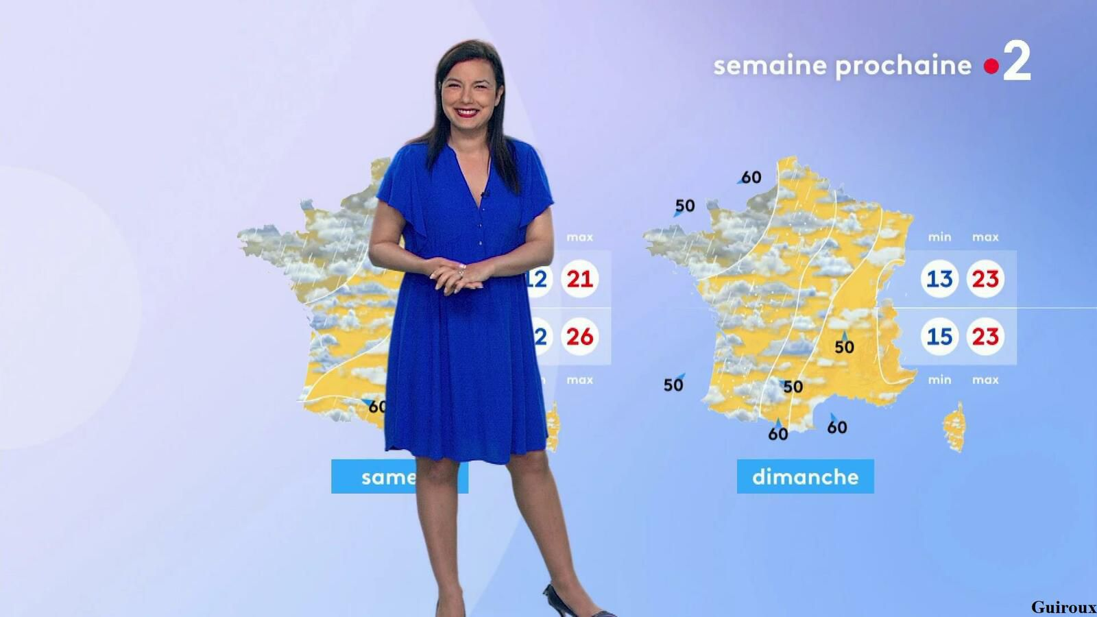 Anaïs Baydemir 24/06/2021 Journaux météo du midi