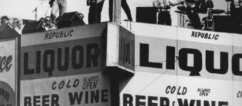 U2 -Where The Streets Have No Name -Liquor Store Rooftop - Los Angeles, Californie -27-03-1987