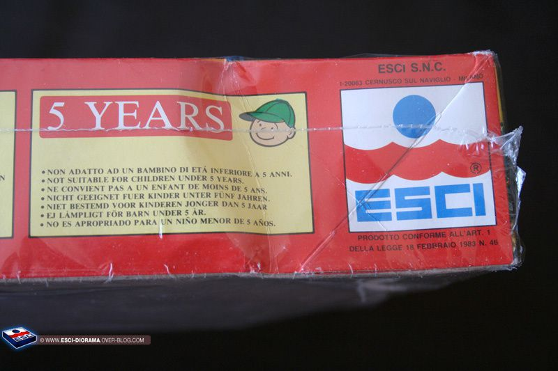 Album - Serie ESCI Historique