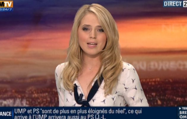 2012 12 02 - CLAIRE ARNOUX - BFM TV - WEEK-END 360 @21H30