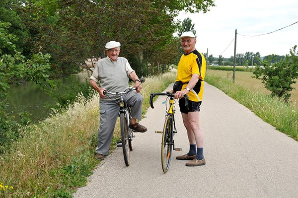 cycliste canal midi bernieshoot