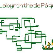 Grilles Gratuites Jeux 2013 : Le Labyrinthe de Pâques - Le Blog des Dames