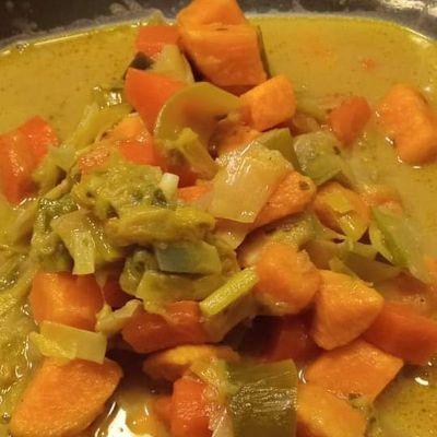 Curry de legumes au Compagnion
