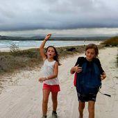 Bienvenue à Clémence et Alexandre du bateau Eclipse, ici aux Galapagos. - Manu et Martin autour du monde