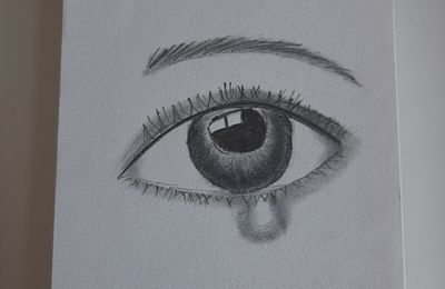 Dessin d'un oeil