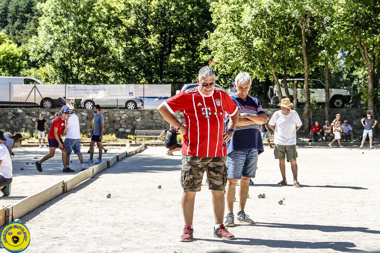 Photos et bulles du concours doublette de samedi St André les Alpes