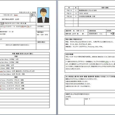 Ecrire votre CV Japonais, partie 1: le rirekisho