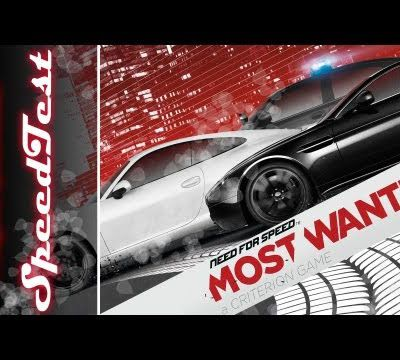 [SPEEDTEST] Need for Speed: Most Wanted 2012