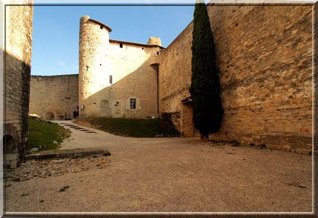 Diaporama château Montélimar