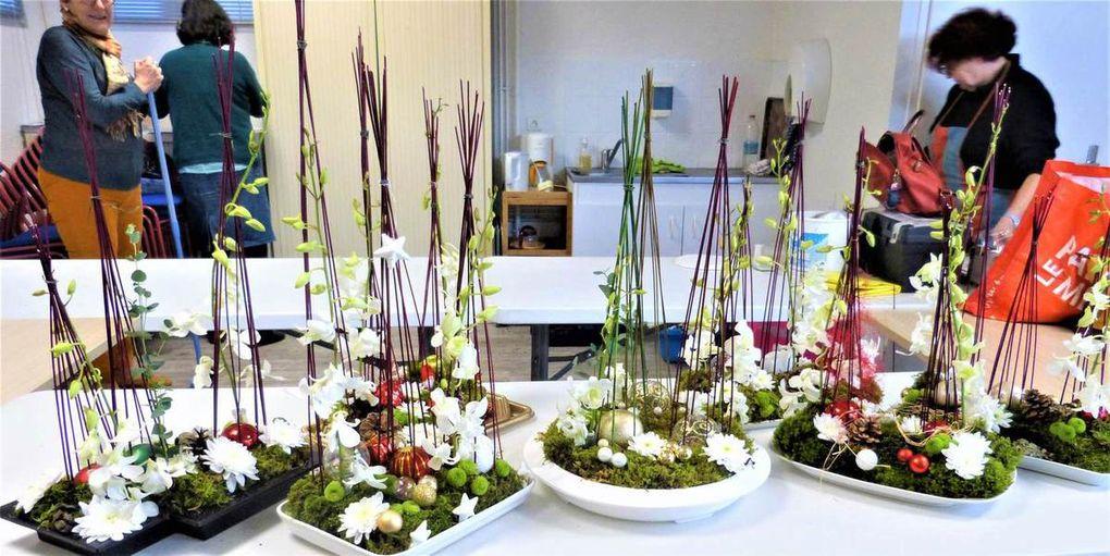 atelier d'art floral du 21 décembre