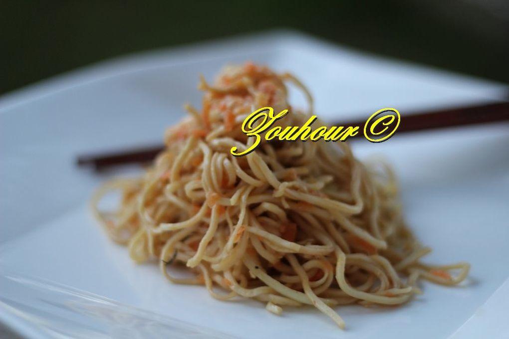 Nouilles Micha thai (Micha thai noodles)