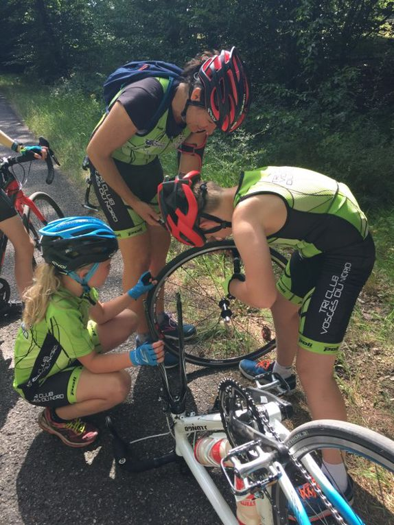 Stage Triathlon jeunes juillet 2020