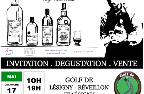 Invitation Dégustation Vente Whiskies Michel Couvreur