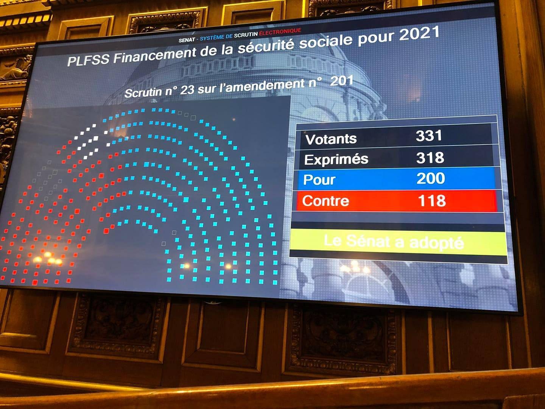 #FRANCE  : ⚠️⚠️🚨🚨📢🔴🇨🇵 Ils ont fait passer la réforme des #retraites au #Sénat !! (En douce en plein confinement)