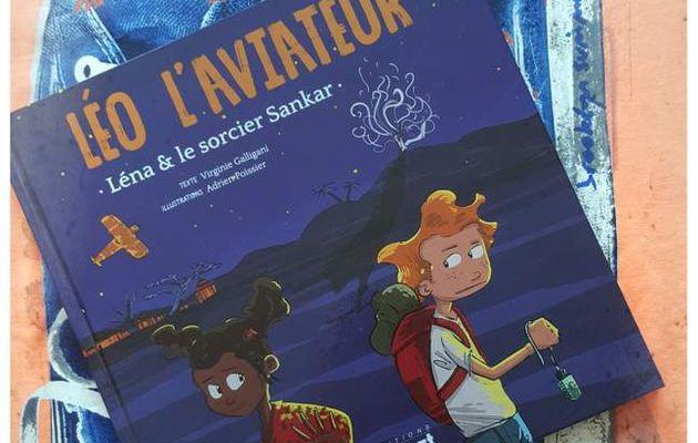 Léo l'aviateur : Léna et le sorcier Sankar - Editions PRIVAT